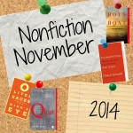 Nonfiction November badge -- cork w books