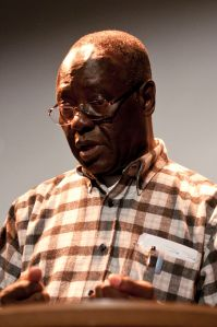 Tete_Michel_Kpomassie speaking in Bergen, 2011